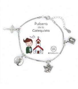 PULSERA PLATA CATEQUISTA - 9105913