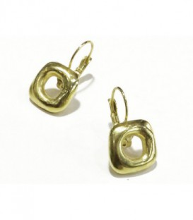 PENDIENTES CILON DORADO LARGO 30MM - ORO668