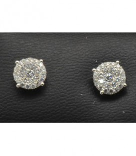 PENDIENTES DIAMANTE- ENGASTE INVISIBLE - 471/471-069
