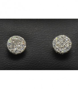 PENDIENTES DIAMANTE - ENGASTE INVISIBLE - 471/E001-085
