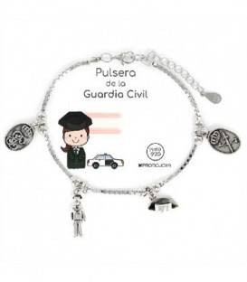 PULSERA PLATA GUARDIA CIVIL - 9105692