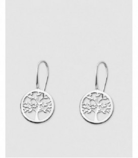 PENDIENTES PLATA 15MM LOTUS - LP1641-4/1