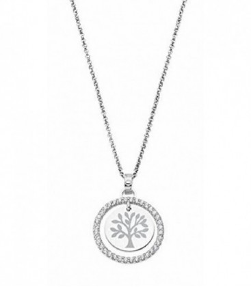 COLLAR PLATA ARBOL LOTUS - LP1954-1/2